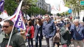 oscar puente manifestacion 1 mayo trabajo 1