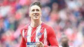 Fernando Torres. Foto: Twitter (@Atleti)