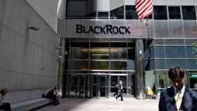 Entrada a una de las sedes de BlackRock.