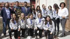 Valladolid-panteras-ayuntamiento-titulo-europa-campeonas