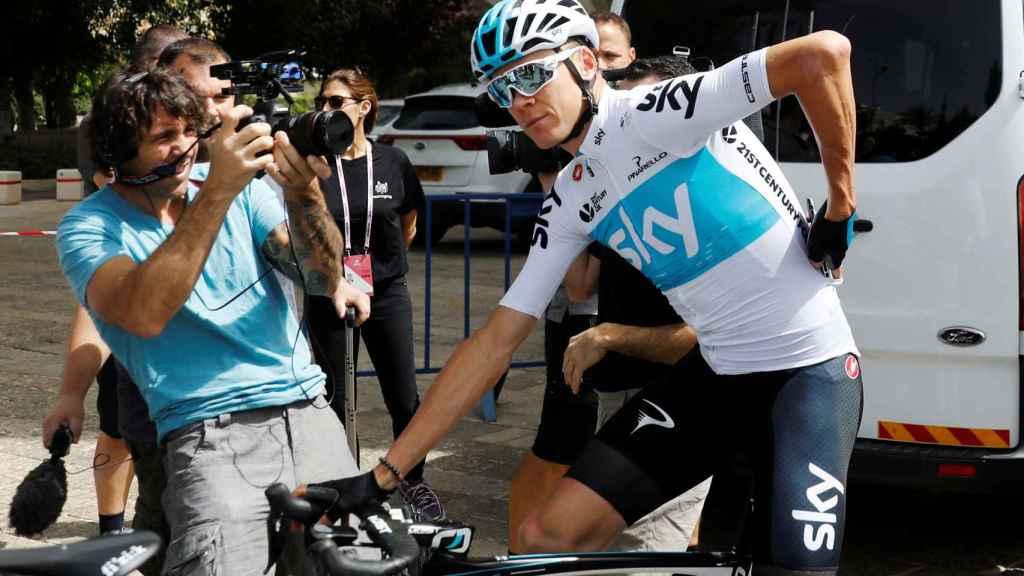 Chris Froome aspira a ganar su primer Giro de Italia.