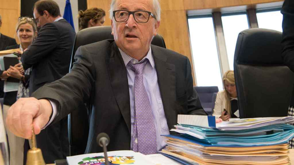 Juncker pone orden en el debate sobre el presupuesto