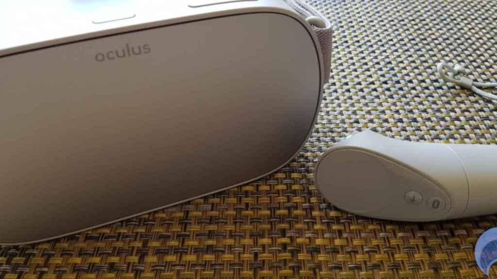 El Oculus Go no tiene cámaras, ni el nuevo mando del Quest