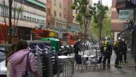 Valladolid-bomberos-calle-tudela-incendio