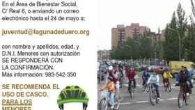 Valladolid-bicicletada-drogas-laguna