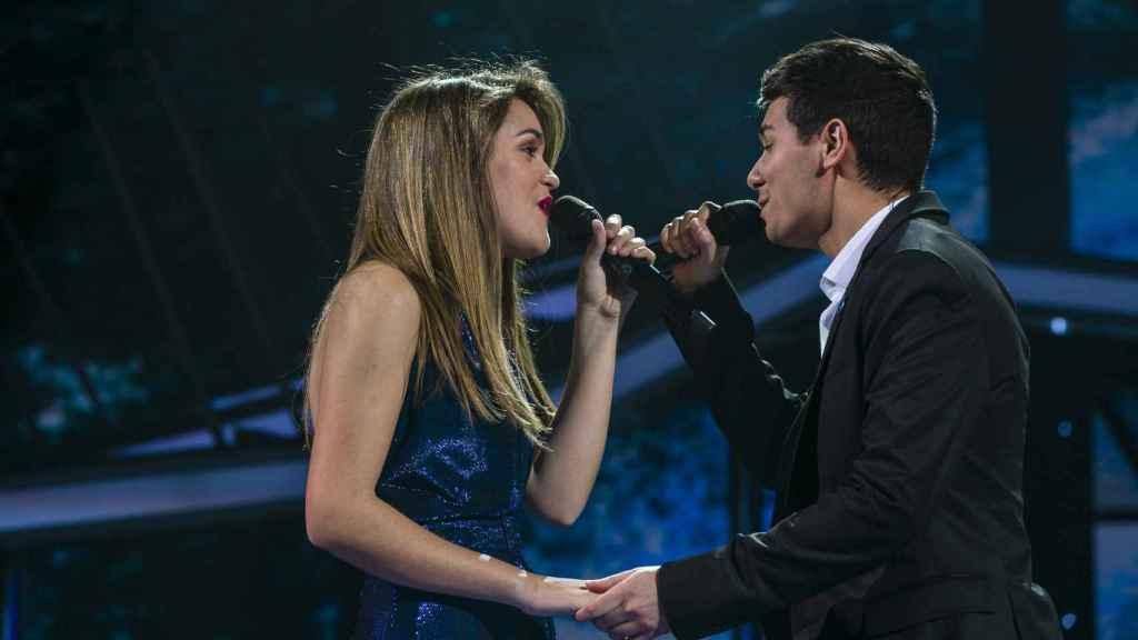 Amaia y Alfred cantando 'Tu canción'