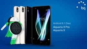 Los BQ Aquaris X y X Pro se actualizan a Android 8.1 Oreo