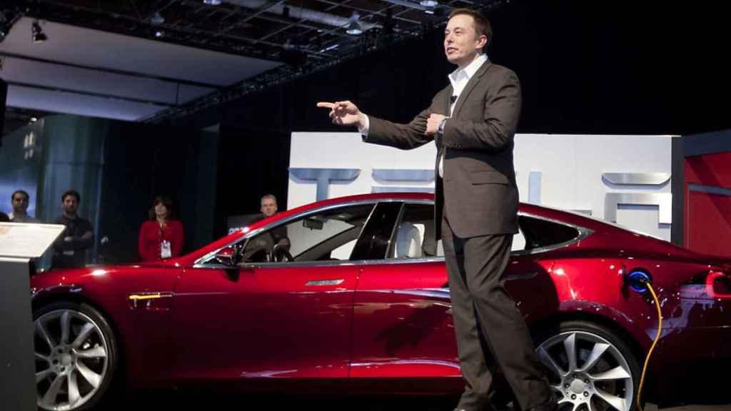 Elon Musk en una imagen de archivo.