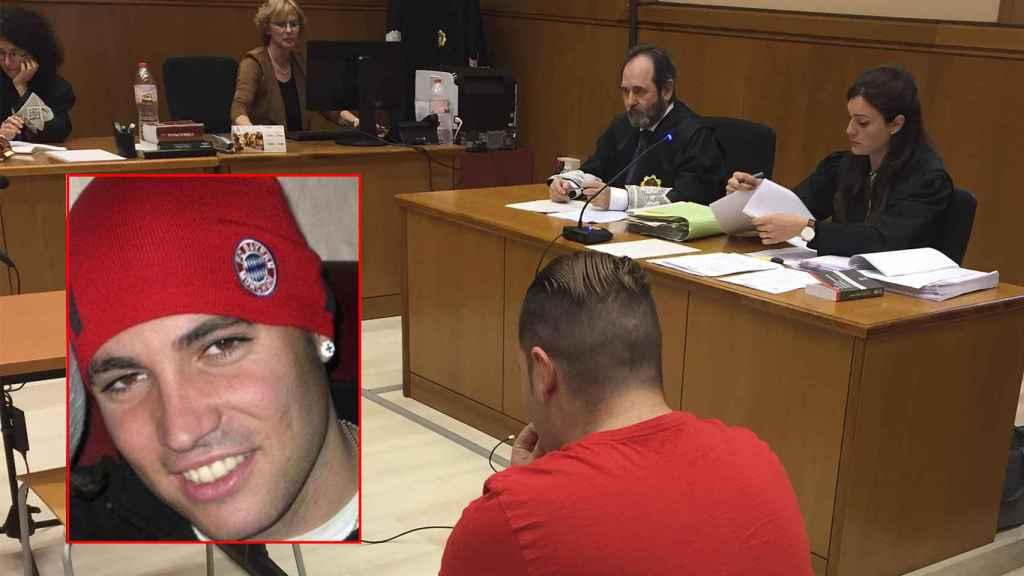 Eduardo L.E., sentado en el banquillo, y esta vez no en el de entrenador. Le piden 80 años de cárcel