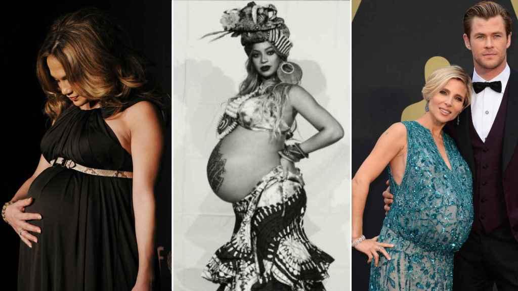 Jennifer Lopez, Beyoncé y Elsa Pataky embarazadas de mellizos