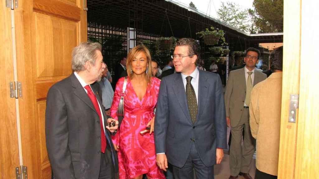 La expresidenta de Madrid, Cristina Cifuentes y el exconsejero de presidencia, Francisco Granados