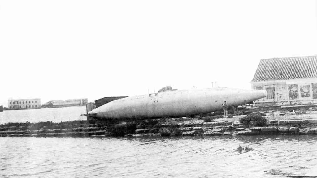 La nave fue conocida como submarino Peral.