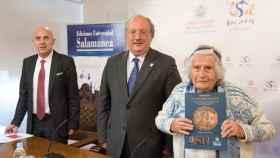 Jose Luis de las Heras Enrique Cabero y Paulette Gabaudan