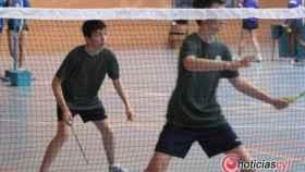 badminton niños