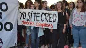 concentracion manifestacion valladolid manada feminista 2