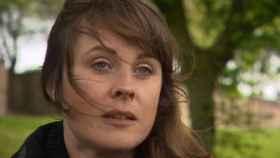 Rebecca Barker entrevistada por la BBC.