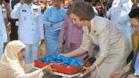 La reina Sofía en una imagen de archivo. GTRES.