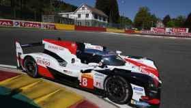 El Toyota de Fernando Alonso para las 6 Horas de Spa.