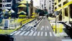 C pintura aire libre