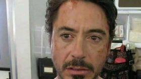 Parte de la imagen de Iron Man que se ha compartido en Facebook.