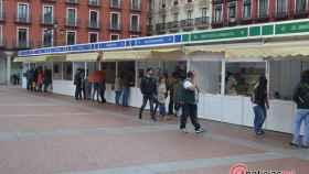 Inauguracion Feria del Libro Valladolid Plaza Mayor (1)