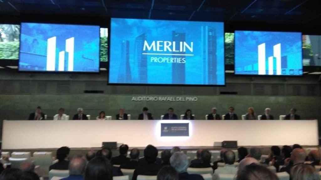 Junta de accionistas 2018 de la socimi Merlin.