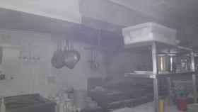 cocina incendio fuego valladolid 1