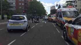 Zamora fallecimiento motoristas madrid