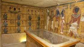 Tumba del faraón niño Tutankamón.
