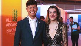 Alfred y Amaia en Eurovisión.