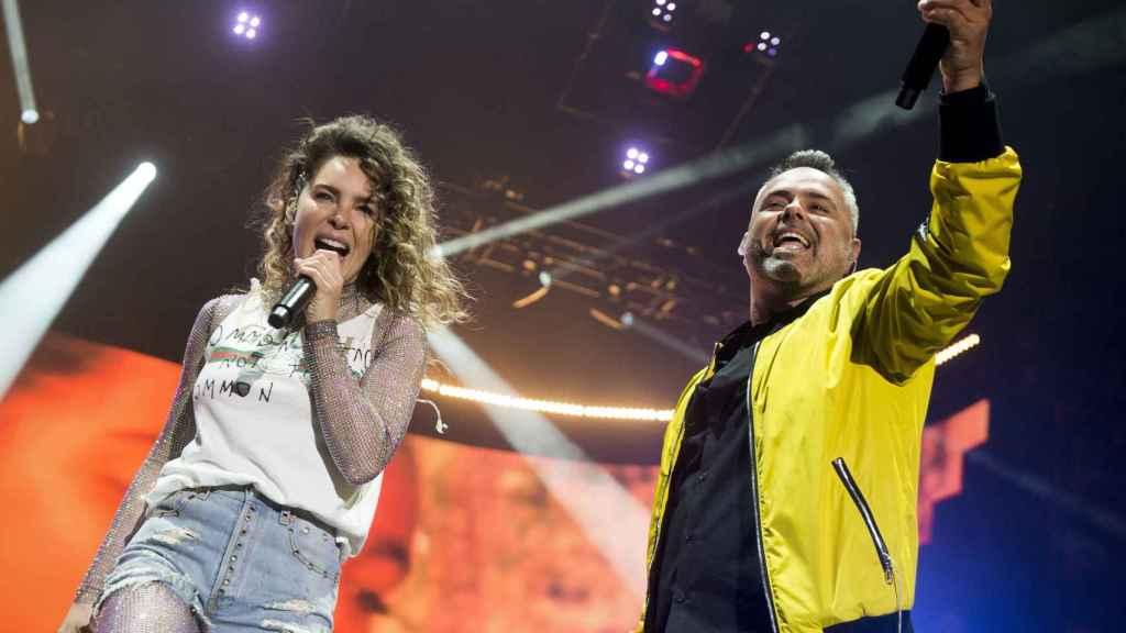 Belinda y Juan Magan en el Primavera Pop de Madrid. Gtres.