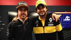 Fernando Alonso y Carlos Sainz.