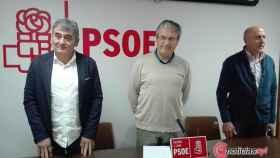 Alfonso Buenaventura Fernando Rubio Jose Luis Varas PSOE