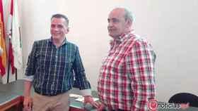 concejal festejos y alcalde villamayor