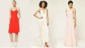 Algunos modelos de la colección para bodas de Sarah Jessica Parker.