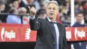 Joaquín Caparrós, entrenador del Sevilla. Foto: sevillafc.es