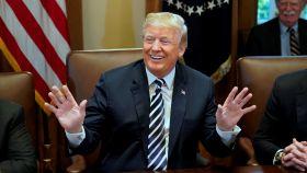 Trump, este miércoles en una reunión con su gabinete en la Casa Blanca.