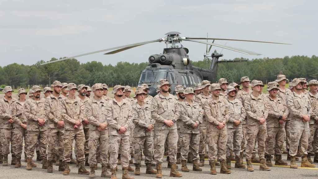 Gala Gallego comanda la unidad compuesta por 75 efectivos.