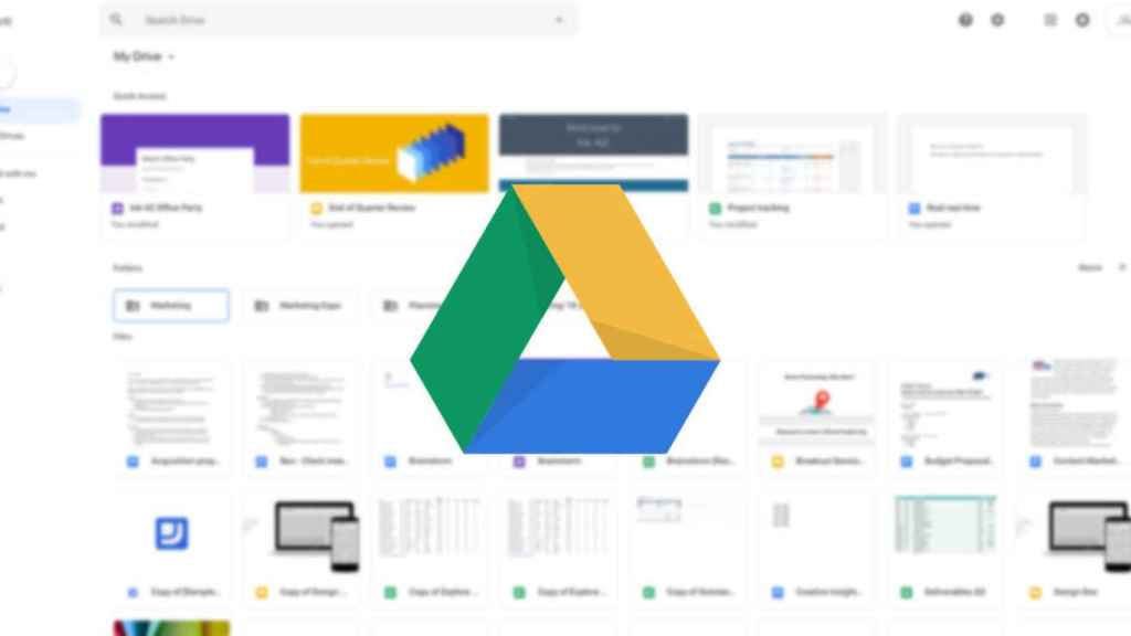 google drive nuevo diseño destacada