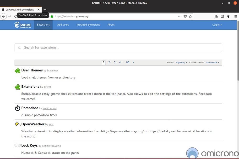 ubuntu-gnome-extensions