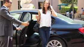 coche uber conductor