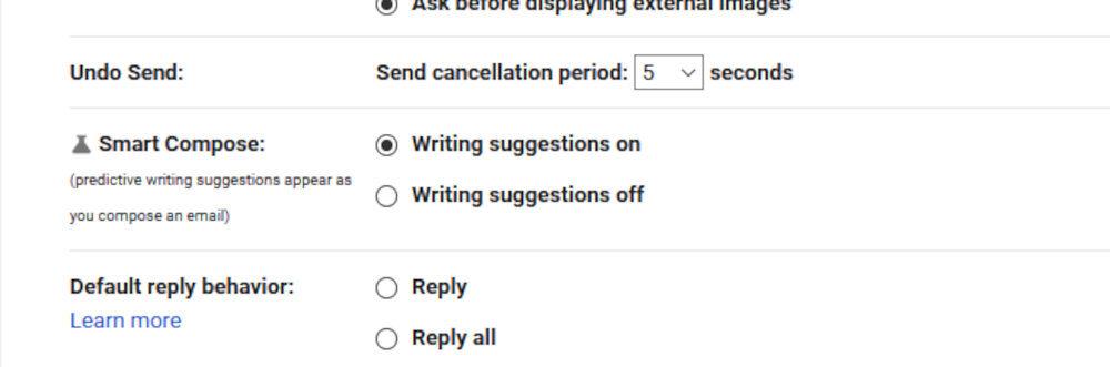 gmail smart compose redaccion inteligente 4
