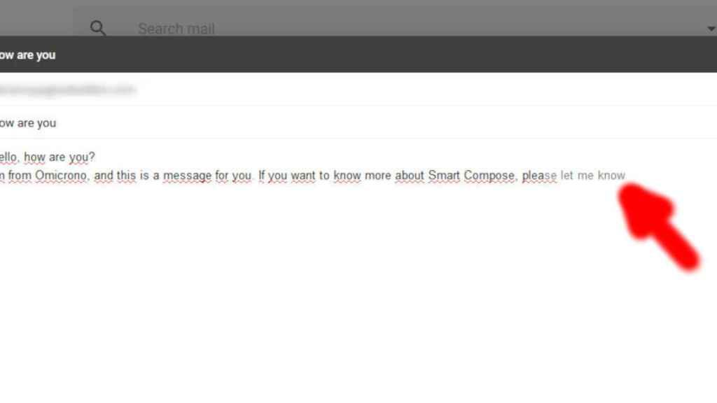 gmail smart compose redaccion inteligente 5