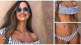 El bikini de Ariadne Artiles en un montaje de JALEOS