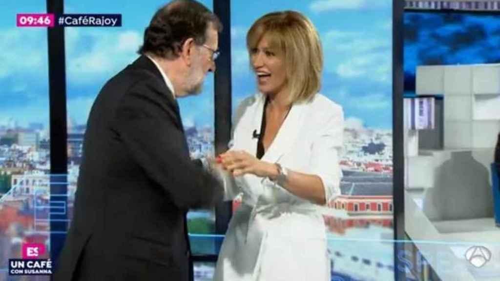 Imagen de la entrevista de Susanna a Rajoy.