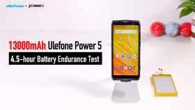 7 días de batería en el Ulefone Power 5 con todo tipo de usos