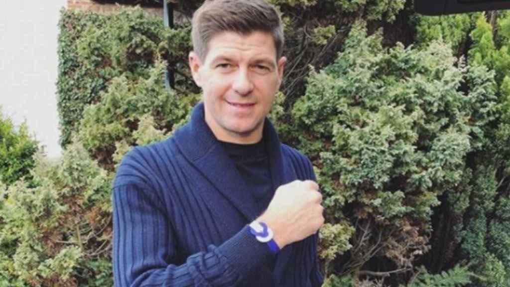 Steven Gerrard. Foto: Instagram (@stevengerrard)