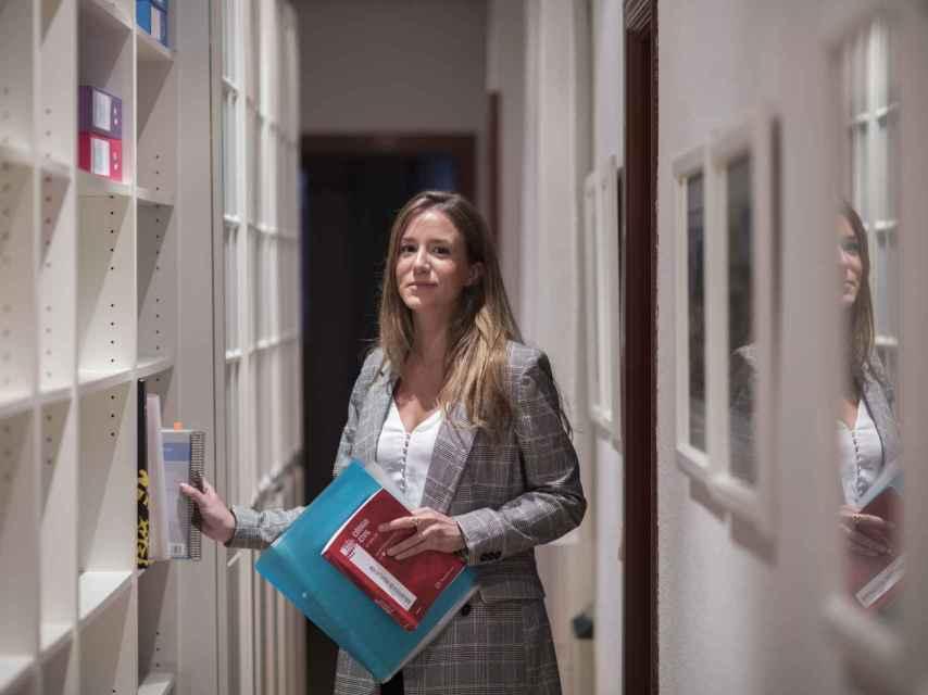 Lucía estudió en ICADE.