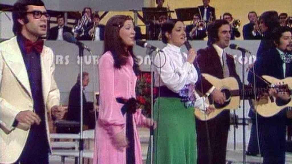 Mocedades en Eurovisión.