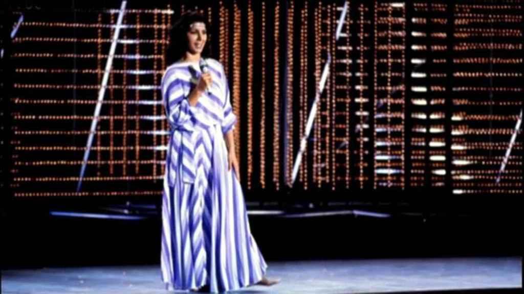 Remedios Amaya en Eurovisión.